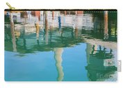 Water Reflections Of Morro Bay  Dock Carry-all Pouch