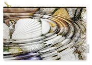 Water Ripples Above Sea Shells Carry-all Pouch