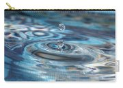 Water Sculpture In Blue 1 Carry-all Pouch