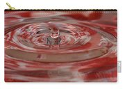Water Sculpture In Orange 1 Carry-all Pouch