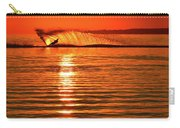Water Skiing At Sunrise  Carry-all Pouch