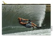 Water Skiing Magic Of Water 11 Carry-all Pouch by Bob Christopher