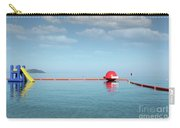 Water Slide Seascape Summer Vacation Scene Carry-all Pouch