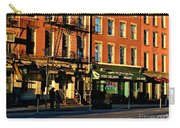 Water Street At Dusk Carry-all Pouch