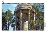 Water Tower In Malmi Cemetery Carry-all Pouch