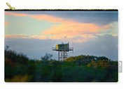 Water Tower In Orange Sunset Carry-all Pouch