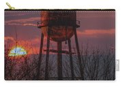 Water Tower Sunset Carry-all Pouch