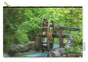 Water Wheel In The Woods Carry-all Pouch