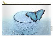 Water With Butterfly Carry-all Pouch