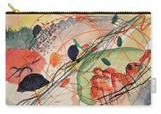 Watercolor 6 Wassily Kandinsky, 1911 Carry-all Pouch