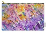 Watercolor - Abstract Flower Garden Carry-all Pouch