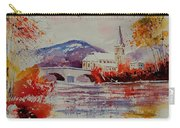 Watercolor Anseremme Carry-all Pouch