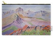 Watercolor - Blanca And Ellingwood Landscape Carry-all Pouch