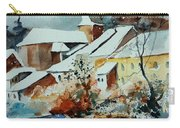 Watercolor Chassepierre Carry-all Pouch