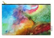 Watercolor Collage Carry-all Pouch