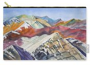 Watercolor - Colorado Elk Range View Carry-all Pouch