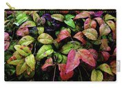 Watercolor Colorful Leaves After A Shower 1771 W_2 Carry-all Pouch