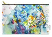 Watercolor Dachshund Carry-all Pouch
