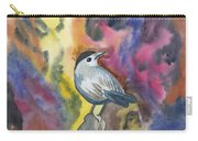 Watercolor - Gray Catbird Carry-all Pouch