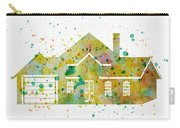 Watercolor House  Carry-all Pouch