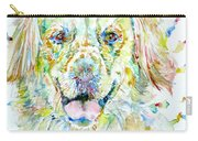 Watercolor Labrador Carry-all Pouch