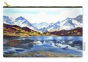 Watercolor Lake Reflection Carry-all Pouch