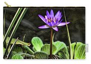 Watercolor Lily Carry-all Pouch