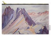 Watercolor - Near The Top Of Mount Sneffels Carry-all Pouch
