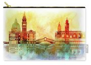 watercolor of Venice Carry-all Pouch