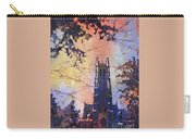 Watercolor Painting Of Duke Chapel On The Duke University Campus Carry-all Pouch