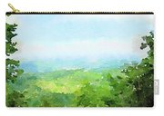 Watercolor Painting Of The English Countryside Carry-all Pouch