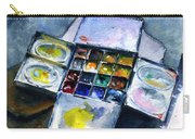 Watercolor Pallet Carry-all Pouch
