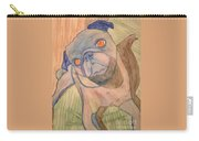 Watercolor Pug Carry-all Pouch
