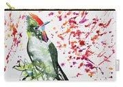 Watercolor - Rainbow Bearded Thornbill Carry-all Pouch