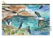 Watercolor - Seabirds Of The North Atlantic Carry-all Pouch