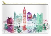Watercolor Skyline Of Columbus, Ohio Carry-all Pouch