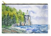 Watercolor - Split Rock Lighthouse Carry-all Pouch