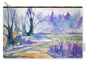 Watercolor - Stream And Forest Carry-all Pouch
