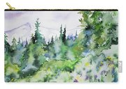 Watercolor - Summer In The Rockies Carry-all Pouch