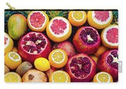 Watercolor Superfood Combo Carry-all Pouch by Celestial Images