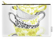 Watercolor Teacups-c Carry-all Pouch