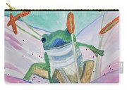 Watercolor - Tree Frog Carry-all Pouch