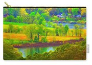 Watercolor View Carry-all Pouch