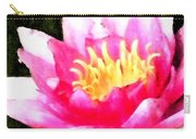 Watercolor Waterlily Carry-all Pouch