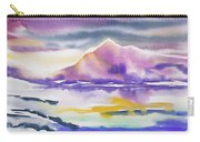 Watercolor - Winter Arctic Impression Carry-all Pouch