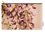 Watercolor Wisteria Carry-all Pouch