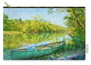Watercolors At The Lake Carry-all Pouch