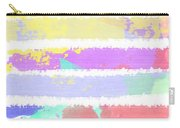 Watercolour Abstract Strips Carry-all Pouch