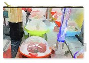 Watercolour Painting Of Sushi Dishes On The Belt Carry-all Pouch