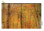 Watercolour Painting Of Vibrant Autumn Fall Forest Landscape Ima Carry-all Pouch